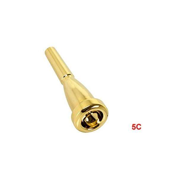 3C/5C/7C Berlapis Emas Tiupan Terompet Nada Kuat Pengganti Pipa Rokok (5C