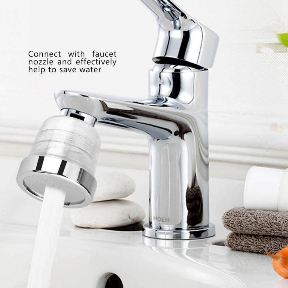 Water Saving Faucet Filter Nozzle Adapter Household Kitchen Bathroom Basin Sink Accessories - intl