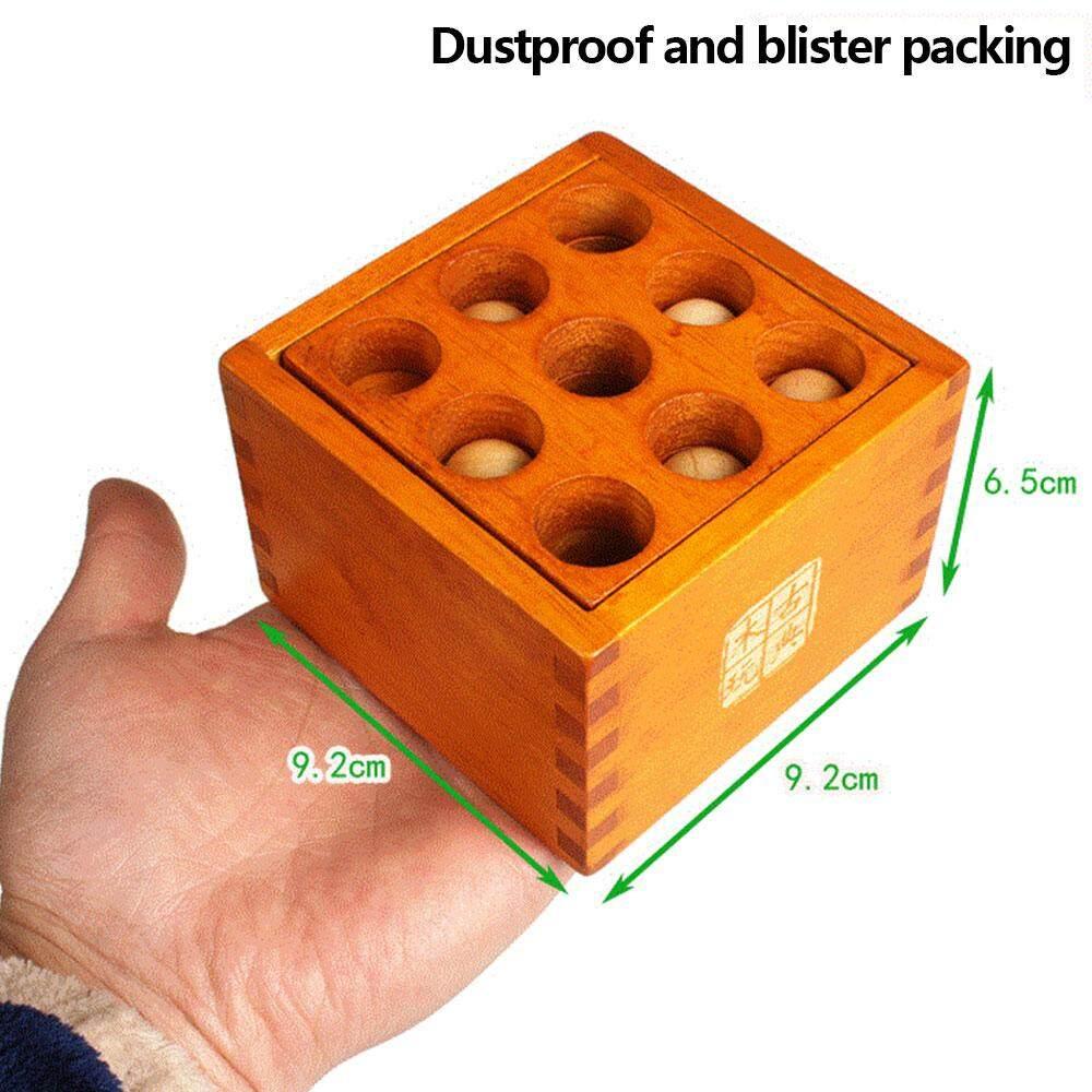 Etouch Menarik Puzzle Klasik Kayu Membuka Mainan Membuka Mainan Puzzle Kayu Tahan Lama Lubricious Pengurangan Stres Praktek