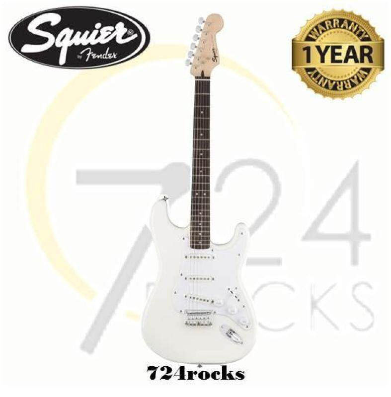 Fender Squier Bullet Stratocaster Hardtail Electric Guitar Arctic White Malaysia