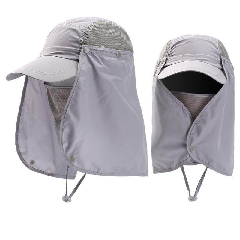6d5c5ecc83c Philippines. Summer Sun Hat Protection Caps Flap 360°Outdoor Fishing Hat  with Removable Neck Face Flap