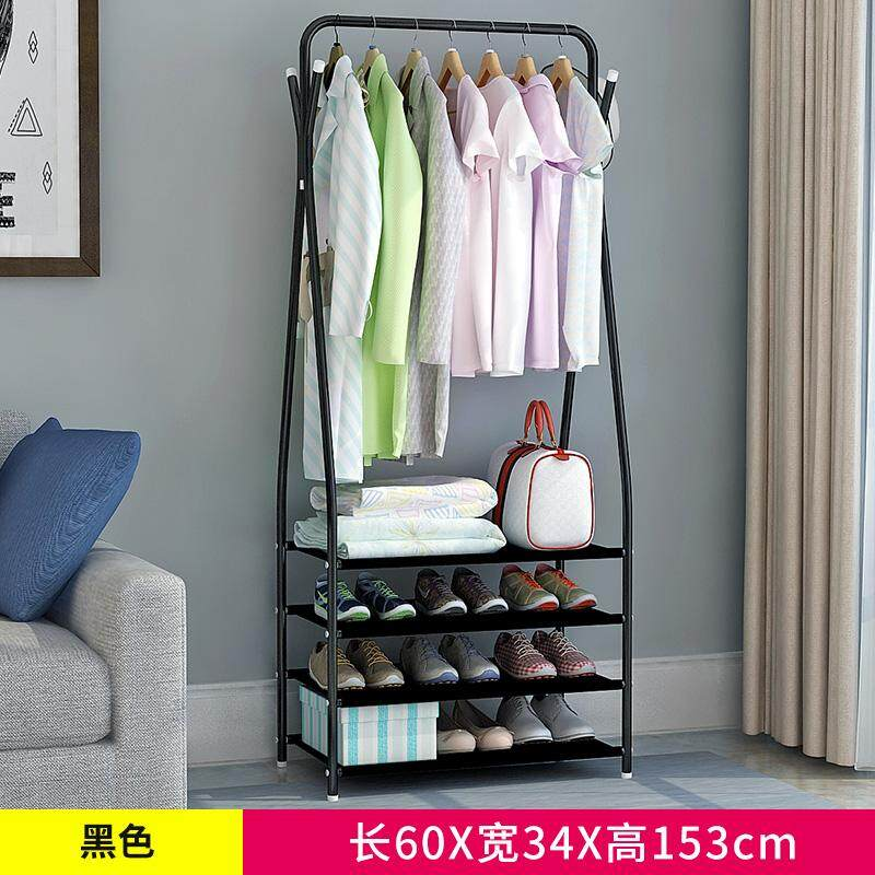 [Tmall Signature] Jia Shi Be Simplicity Foyer Rack for Coat Cap and Shoes Landing Cloth Hanger Iron-made Hanging Clothes and bags