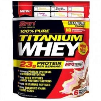 SAN nutrition  100% Pure Titanium Whey (10 lbs.) - Tropical Berry