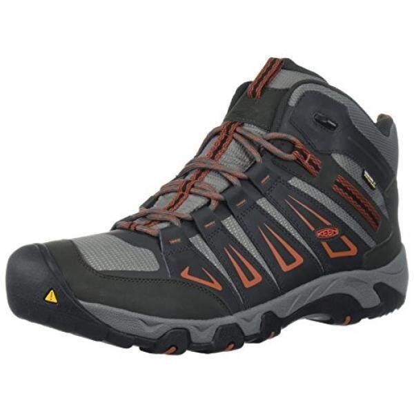 3e9bea3659c KEEN Mens Oakridge Mid Waterproof Hiking Boot