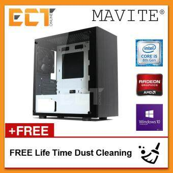 (2018 Latest) Mavite B7 Exclusive Forge Budget Basic Gaming Desktop PC (i5-8600K,GTX1050Ti,1TB,4GB,W10P)