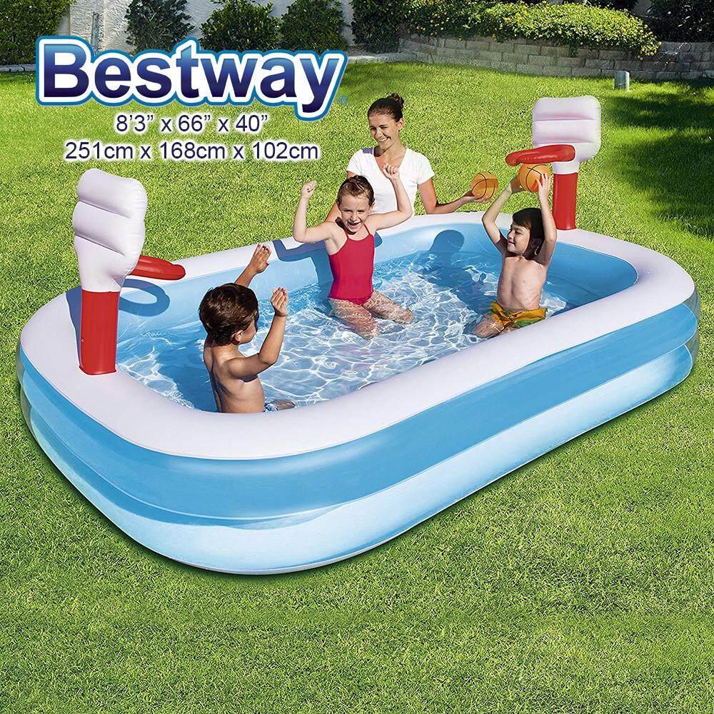 BESTWAY Basketball Play Pool Inflatable Pool Model 54122