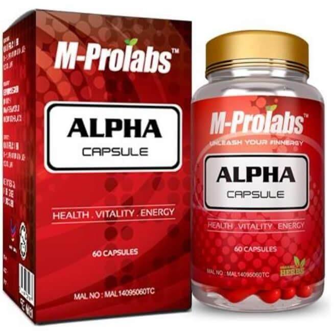 M-Prolabs Alpha Men's Health Capsule [60 Capsules]