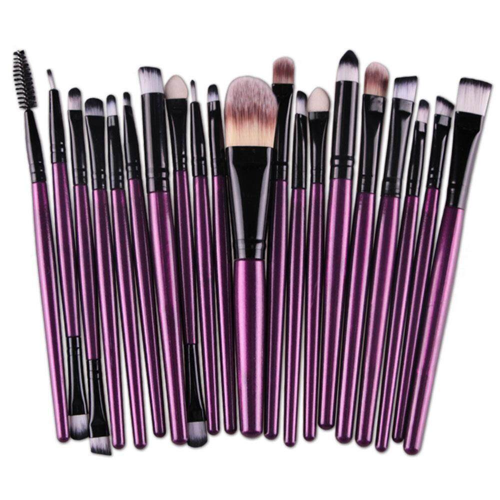 OEM 20 pcs Makeup Brush Set tools Make-up Toiletry Kit Wool Make Up Brush Set - intl Philippines
