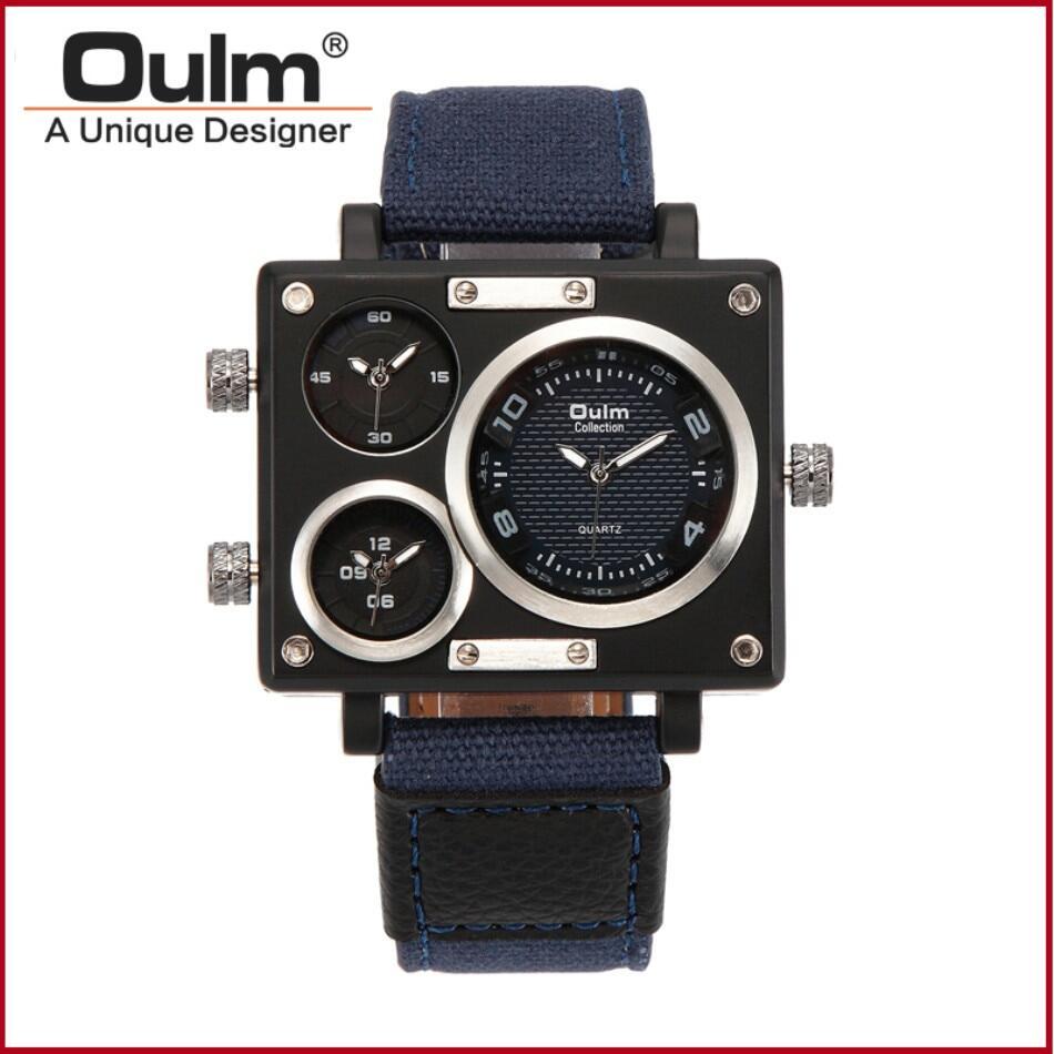 Oulm 3595 Men Quartz Watch--013