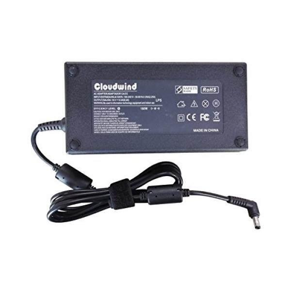 Pengisi Daya Laptop & Adapter Cloudwind 180 W Adaptor AC Pengganti Charger UNTUK ASUS ROG G-Seri Strix: g750JM G750JS G750JW G750JX G751JL G751JM G752VL G752VT GL502VS FX502VM G46VW G55 G55VW G70 G75 G75VW G75VX-Intl