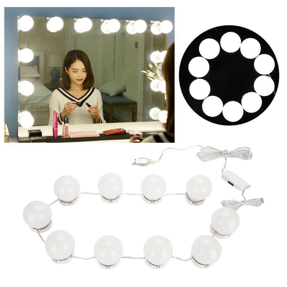 LED Bulb Mirror Light Vanity Mirror Lamp Kit Lens Headlight Bulbs Kit (10 Bulbs) tốt nhất