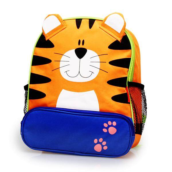 TEEMI Cartoon Animal School Bag Backpack for Nursery Kindergarten Kids Children Toddler - Tiger