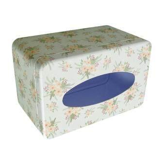 ซื้อ BolehDeals Napkin Paper Holder Removable Tissue Box Covers Tinplate Dinning Decor Tableware การส่งเสริม - มีเพียง ฿150.00