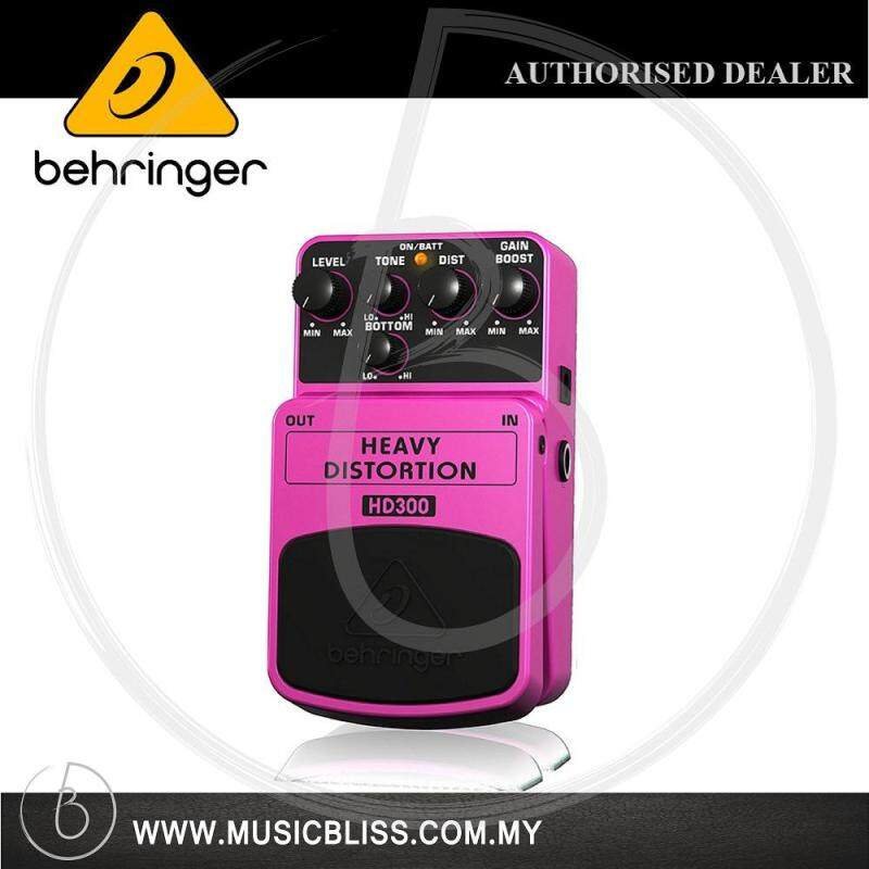 Behringer HD-300 Heavy Distortion Guitar Pedal (HD300) Malaysia
