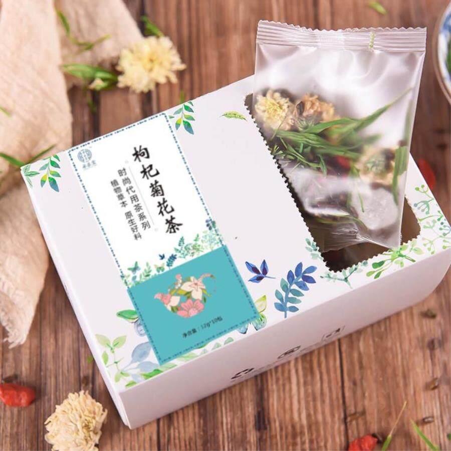 Kombinasi Krisan Wolfberry Teh Delapan Treasures Tea Teh Herbal Alternatif Teh Dukungan Campuran Batch-120g