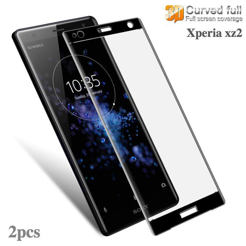 Sony Xperia XZ2 Tempered Glass 3D full Screen Protection film for Xperia XZ 2 Curved Glass