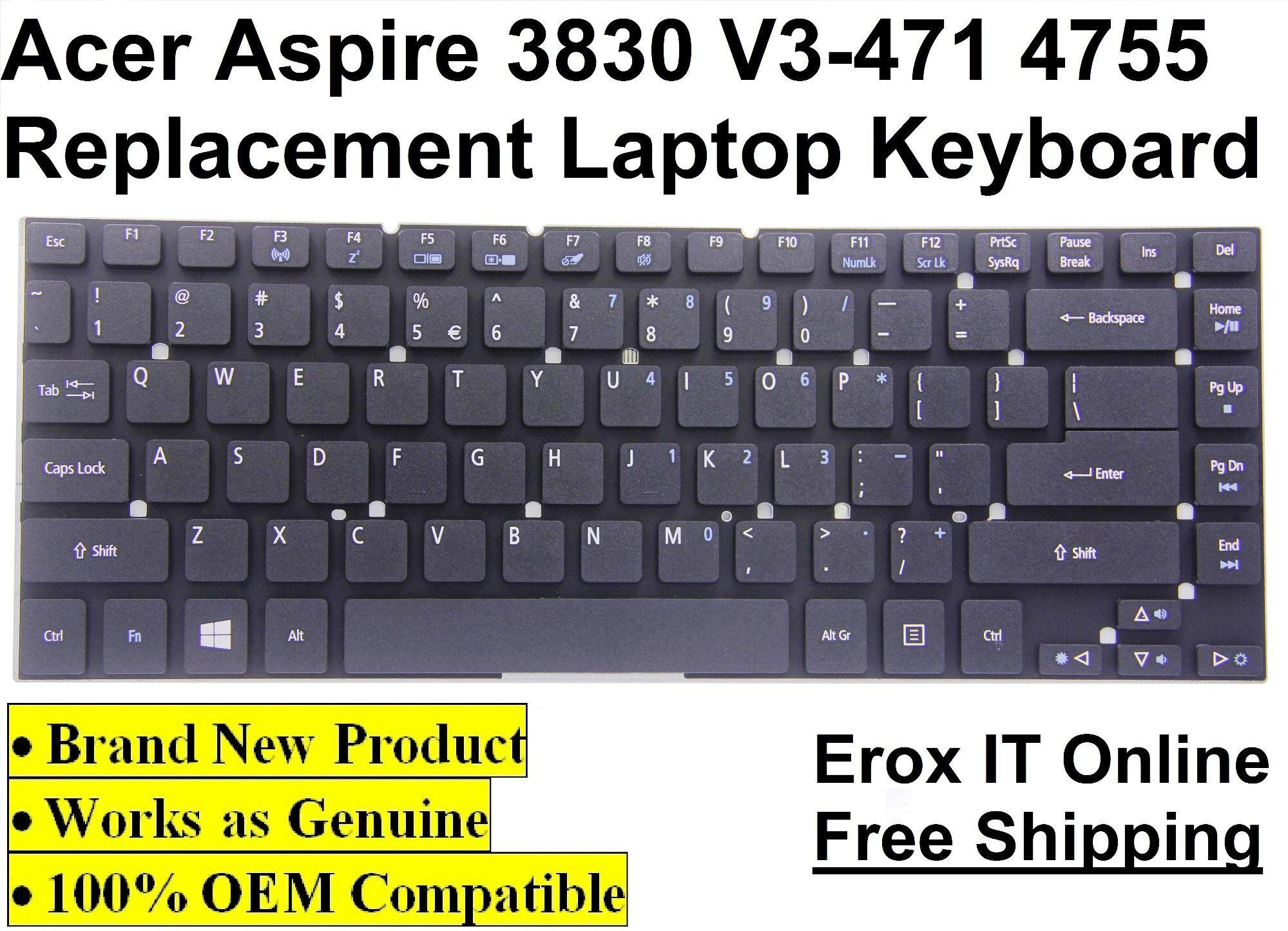 Acer Aspire 4755 4755G 4840 4840G Laptop Keyboard 3830 Replacement