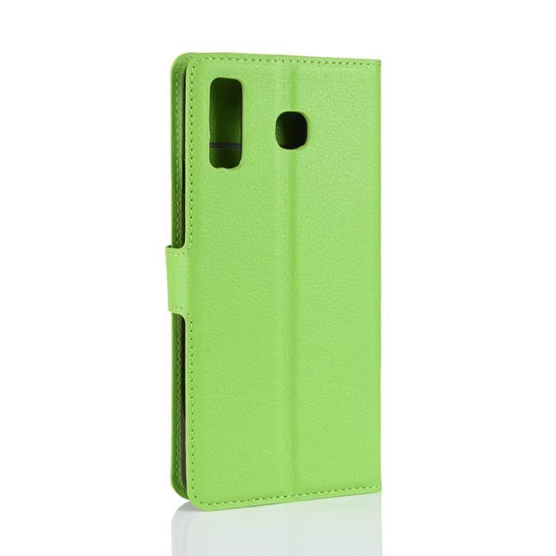 Detail Gambar Premium Kulit Flip Pelindung Dompet Casing Ponsel untuk Samsung Galaxy A8 Bintang (A9