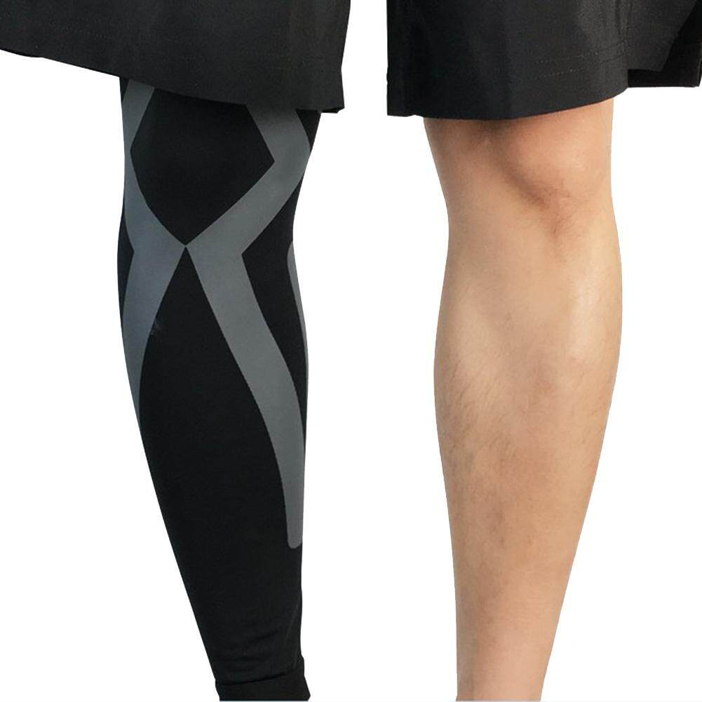 Yanyi Knee Pads Compression Long Leg Sleeve Protector Gear Breathable Crashproof Antislip Basketball Protective Pad Support Guard For Running Riding Walking Fitness By Sa Yanyi.