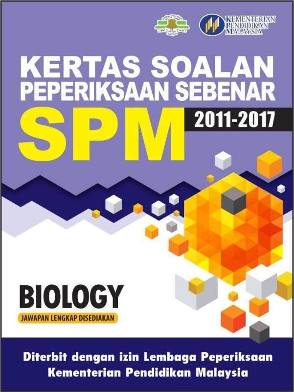Kertas Soalan Peperiksaan Sebenar SPM Biology Malaysia