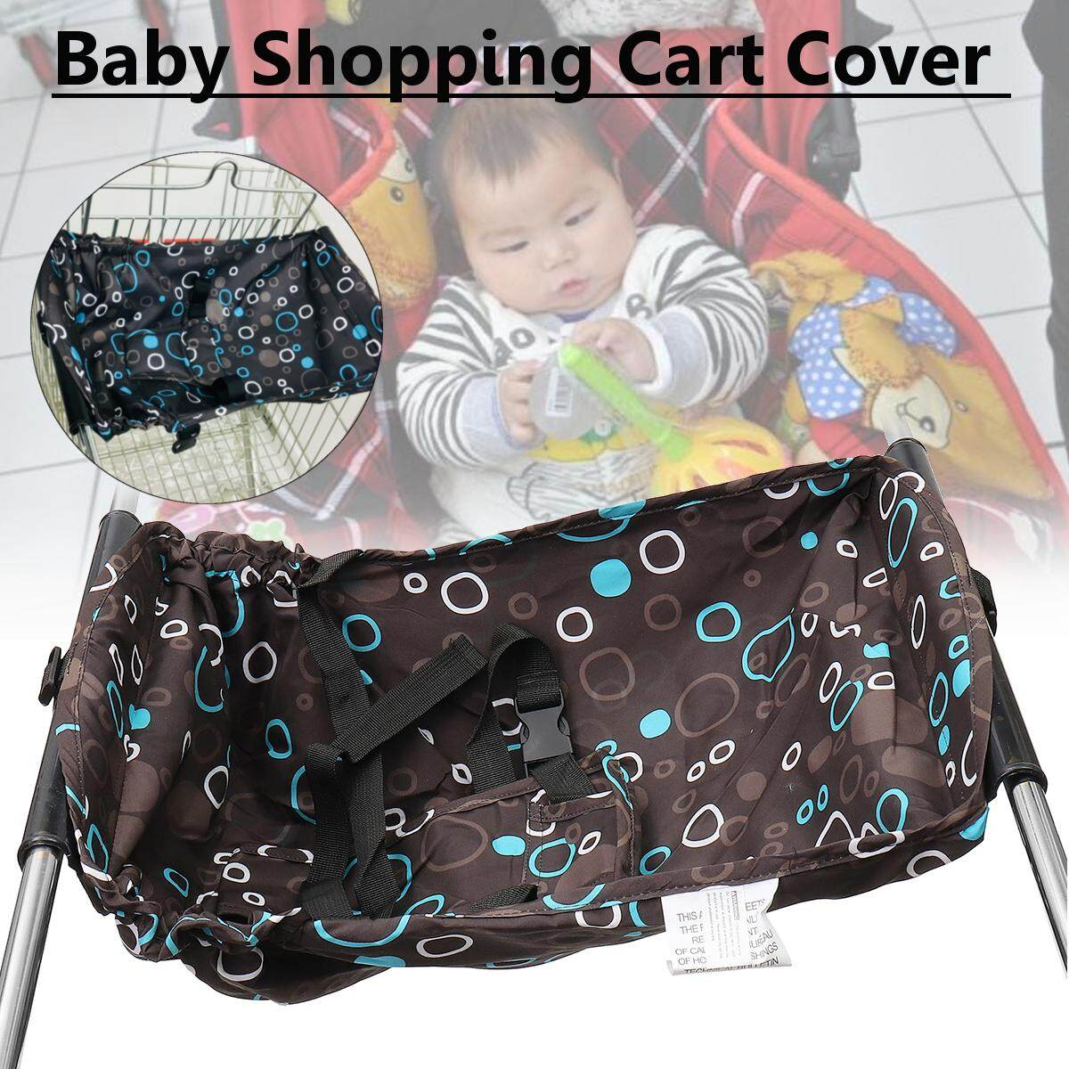 Soft Comfortable Baby Shopping Cart Cover Portable High Dining Chair Seat Pad Dd By Audew.