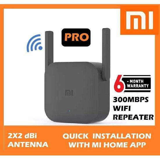 Original Xiaomi WiFi Amplifier Pro 300Mbps WiFi Signal Extender Repeater  Range Extender