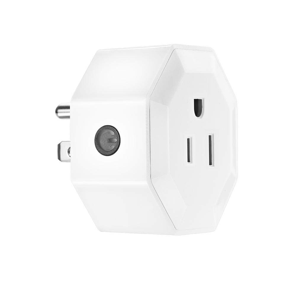2Pcs Wireless Wifi Smart Plug Us Outlet Wi Fi Socket Charging Adapter Smart Home Power Plug Remote Control Via Phone App Smart Timer Compatible With For Amazon Alexa For Google Home Nest Ifttt For Tp Link Intl For Sale