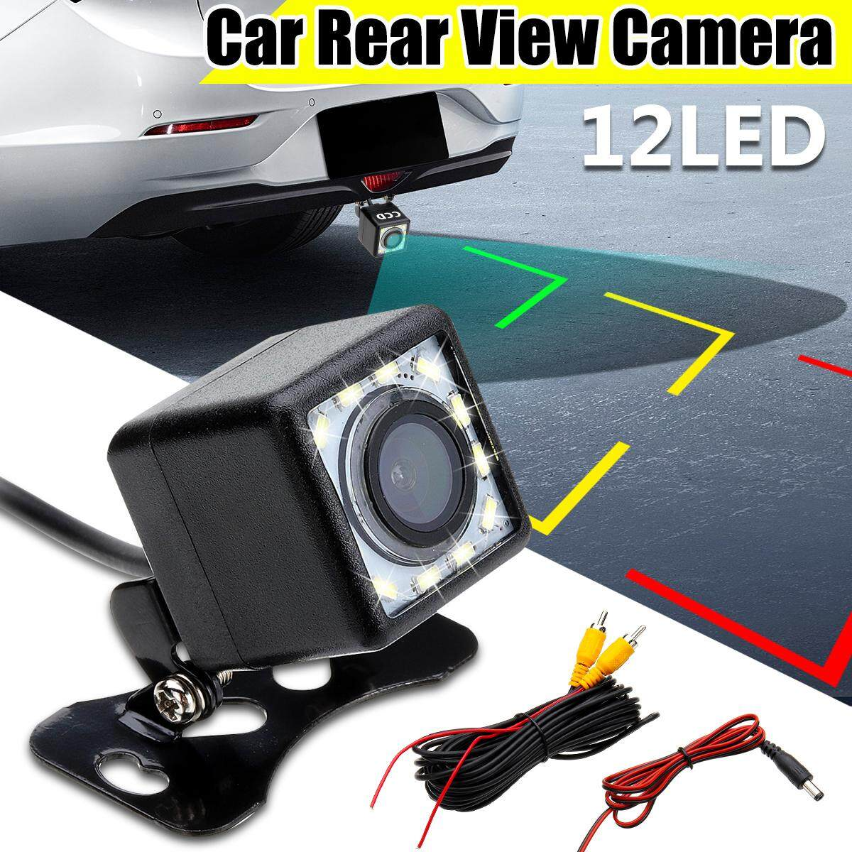 12 Led 12v Car Vehicle Rear View Camera Waterproof Night Vision 170 Wide Angle By Wings Wind.