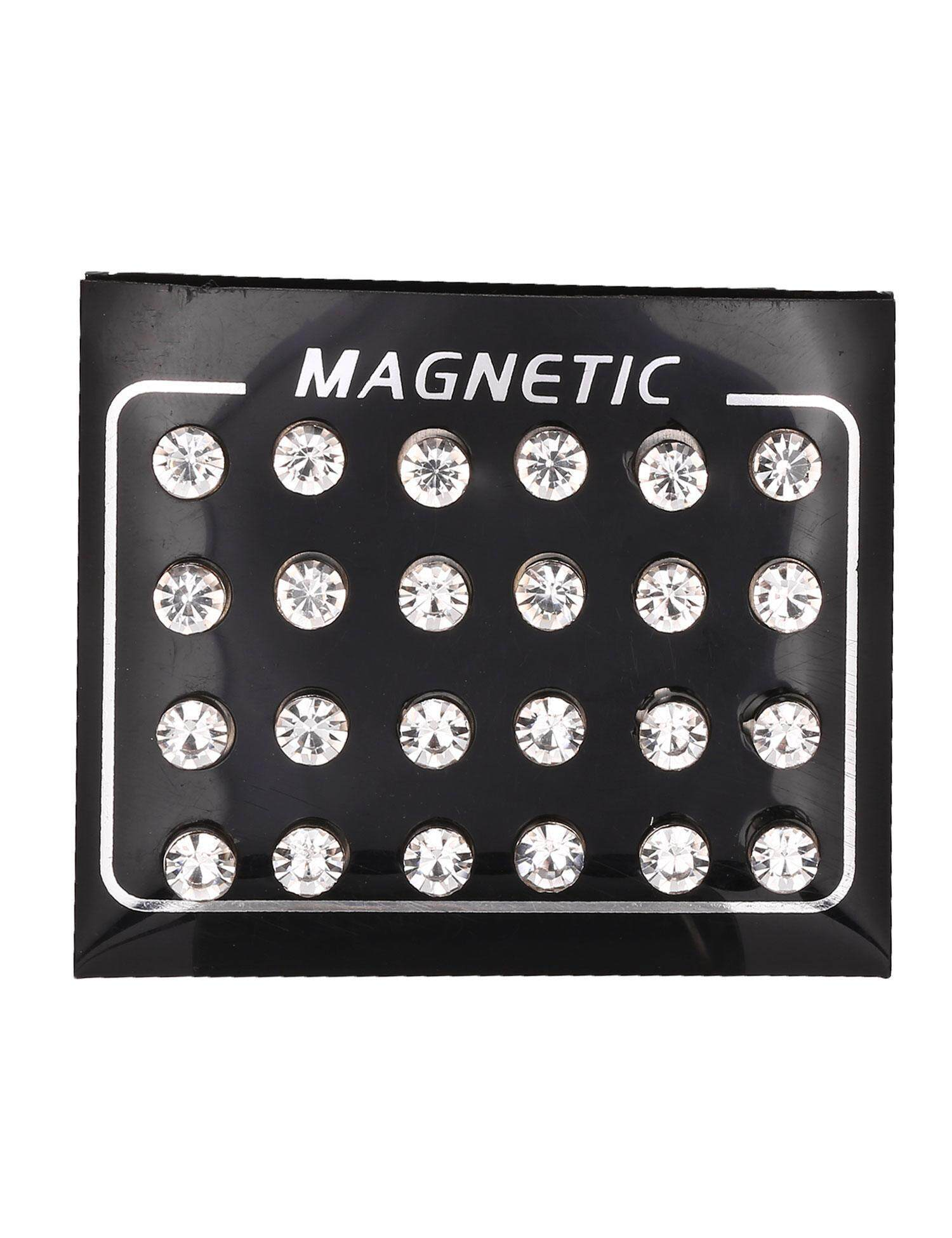 Baru Penjualan ASTAR Wanita Sepanjang Berlian Buatan Magnetik Telinga Stud Anting-Anting Magnet Telinga Stud Perhiasan-Internasional