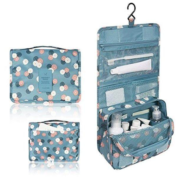 Goso Cosmetics Hanging Travel Bag Keep Your Makeup Hair Products And Toiletry Organized Easy