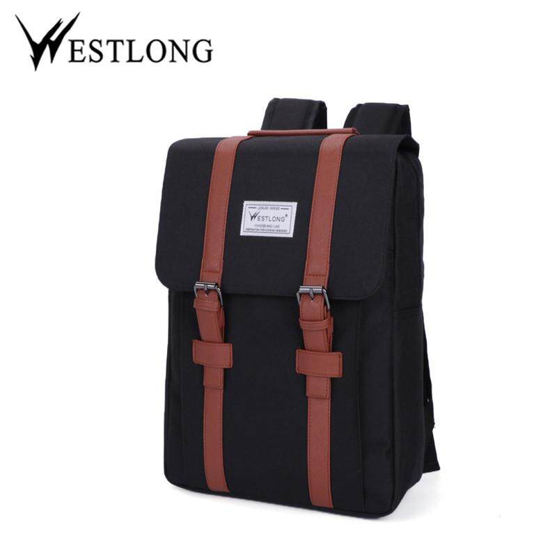 4d5c9d8f029d HZ-promotion price WESTLONG 2016 New Men Backpack Portable Cloth Material Travel  Bags Men s Backpacks