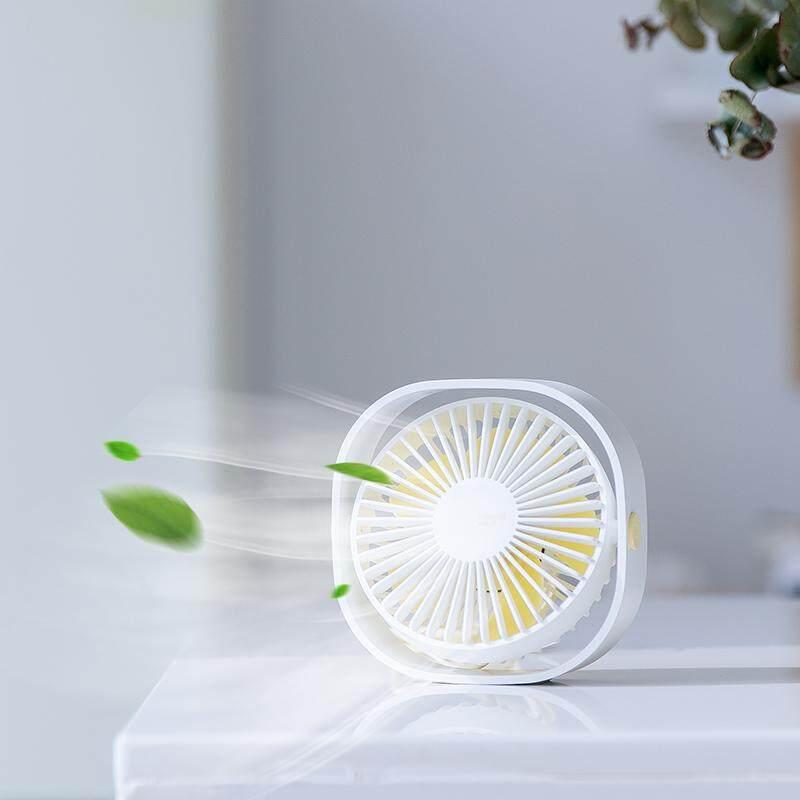 Baseus_CXYE Protable USB Fan 3-Speed Mini Cooling Fan Silent Desktop Desk 360 - intl