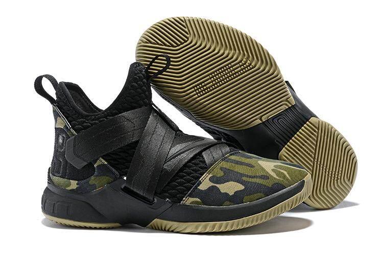 ddf228785941c ... ireland detail gambar nike lebron zoom soldier 12 classic professional  basketball shoe comfortable running sneaker black