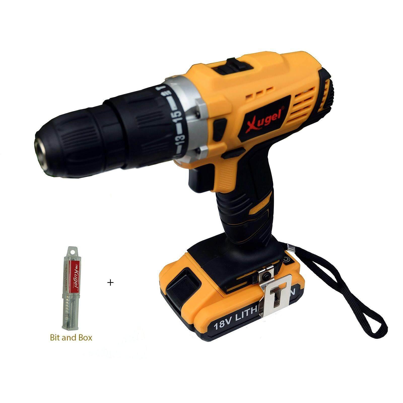 Fitur Stanley Sch20c2k 18v Cordless Hammer Drill Battery Brushless Xugel Li Ion Impact Ke1017
