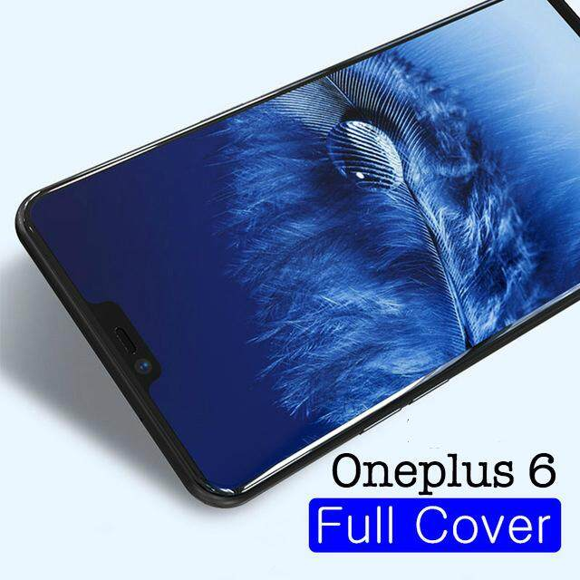2 Pieces for Oneplus 6 Film Clear Tempered Glass 3D Full Screen Protector for Oneplus 6 Glass Screen Cover - intl
