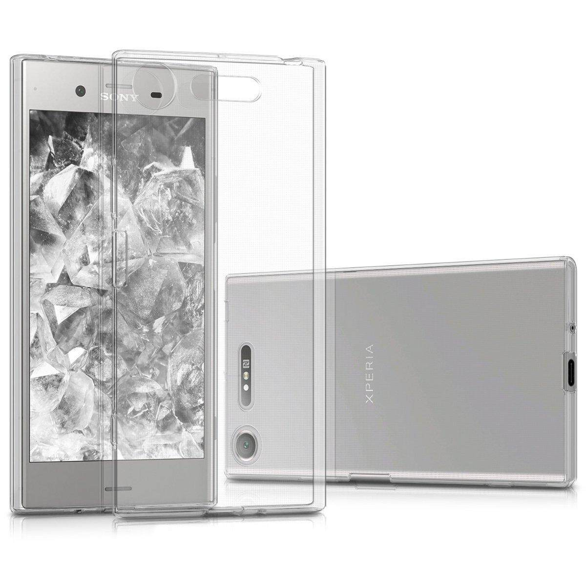 C5 Ultra Gray Check Source · Clear Soft TPU Case for Sony Xperia .