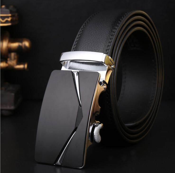 Mens Business Style Belt Designer Leather Strap Male Belt Automatic Buckle Belts For Top Quality Men