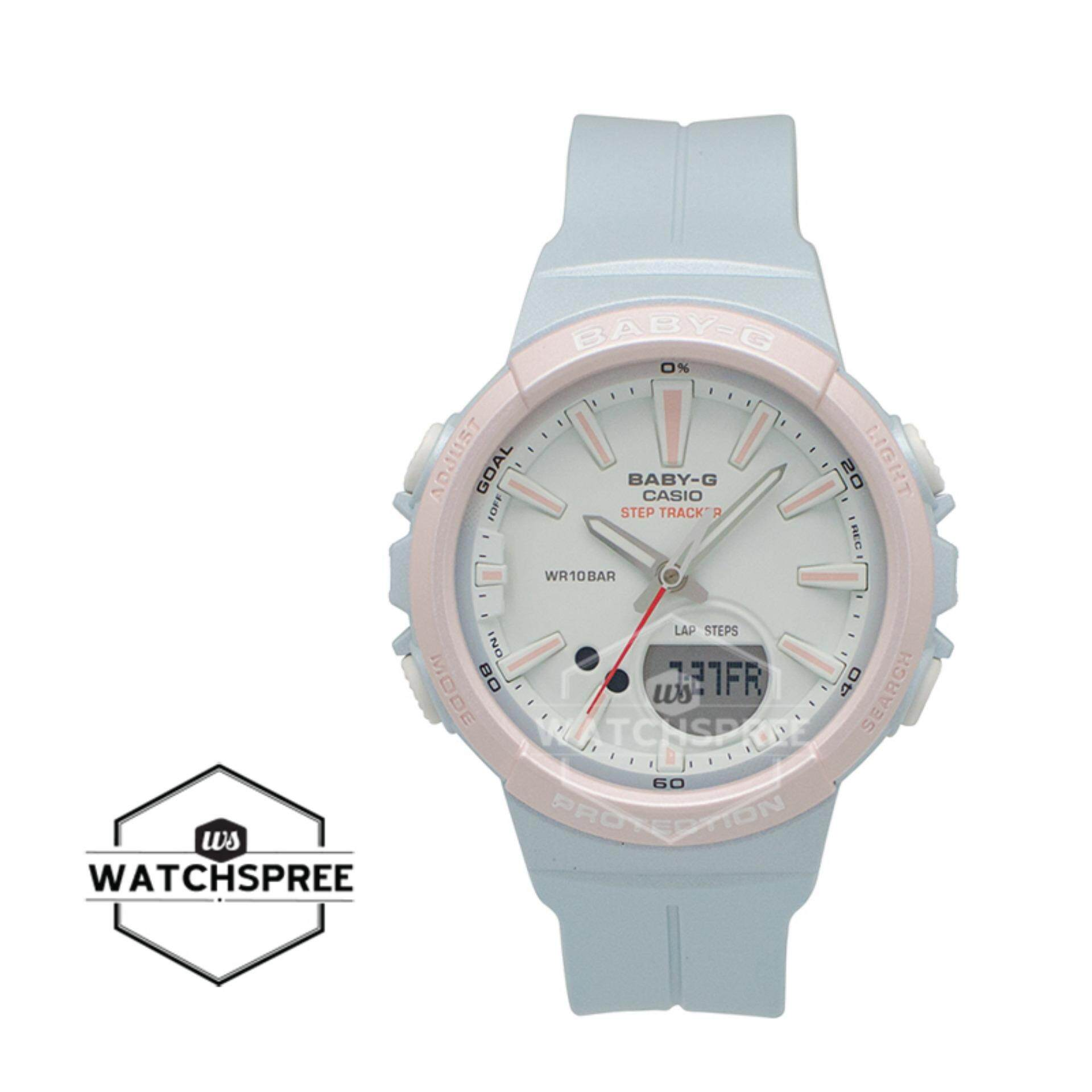 Features Official Malaysia Warranty Casio Baby G Bgs 100gs 7a Step Bga 210 7b3 New Arrival For Running Series Tracker Light Blue Resin