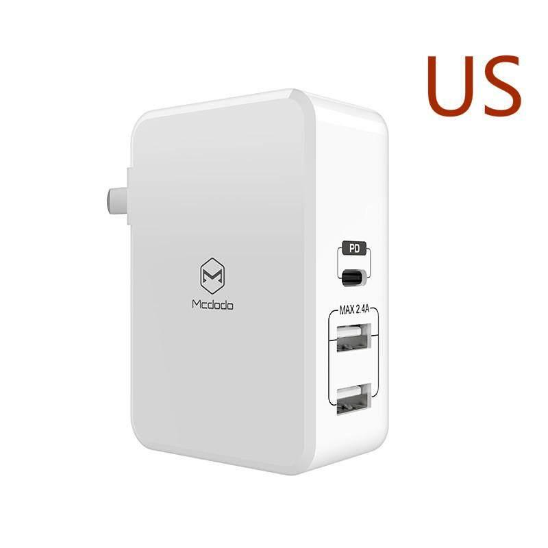 MCDODO 29 W Cepat Charge Charger dengan Tipe-C PD dan Dual USB Port untuk