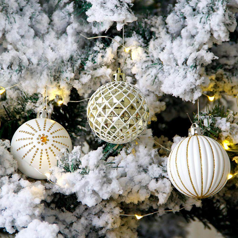 30Pcs Christmas Balls Baubles Party Xmas Tree Decorations Hanging Ornament Decor