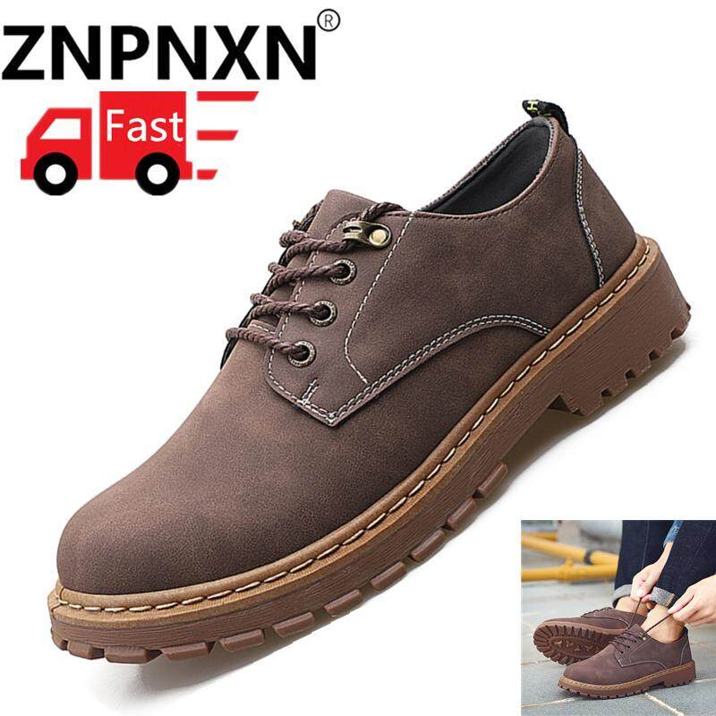 ZNPNXN Men s Boots Men s Explosive Workwear Shoes Fashion Outdoor Shoes  Casual Work Shoes Winter Martin Boots 89d1719b0d