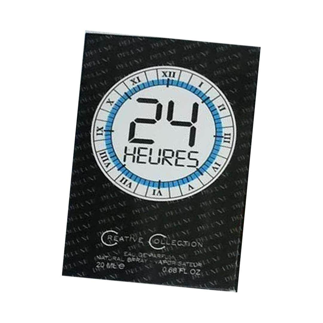 POCKET PERFUME MEN AND WOMEN 24 HEURES
