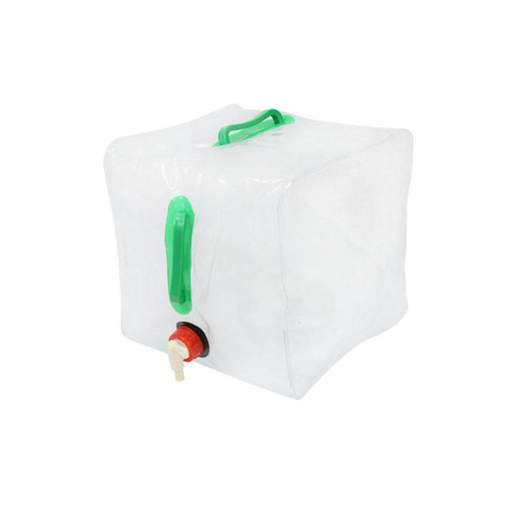 Magiccube *20l Outdoor Foldable Transparent Drinking Water Bag Camping Emergency Survival Water Storage Carrier Bag By Magic Cube Express.