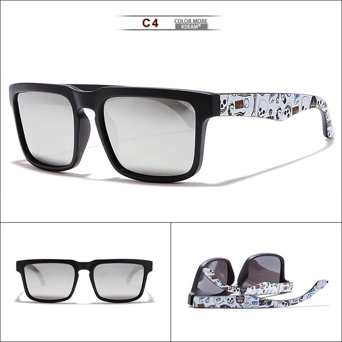 0ca0f39bbb4 KDEAM D2501 Polarized Sunglasses Square Sport Eyewear UV400 Driving Cycling  - intl