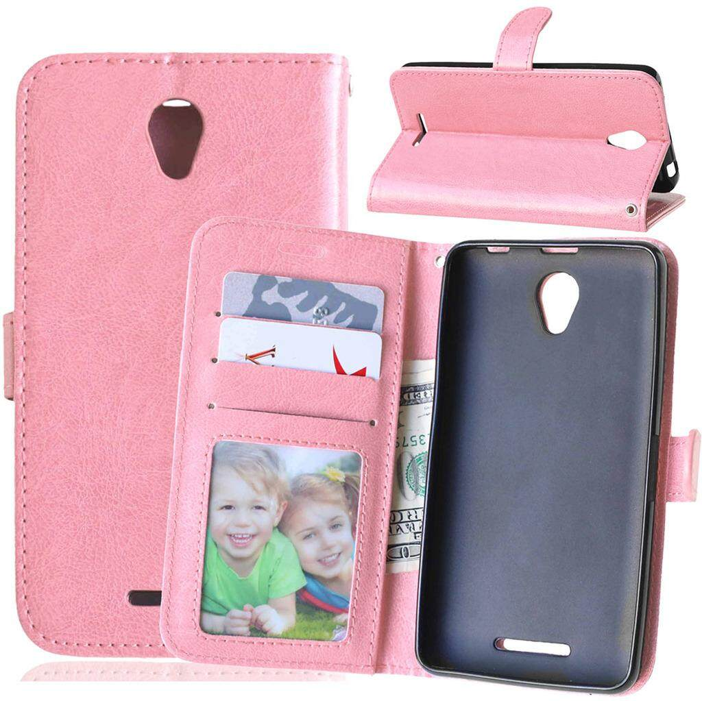 Lenovo A5000 case,[FQY-TEC][Pink][Pu Leather]
