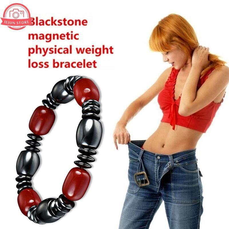 Lejun Black Fashion Jewellery Magnetic Beaded Bracelet Weight Loss Bracelet By Lejun Store.