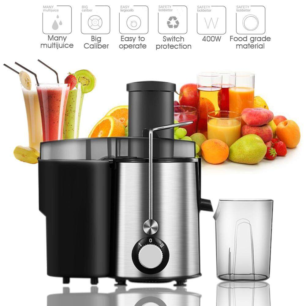 Holmark 400w Electric Whole Fruit Vegetable Power Extractor Juicer
