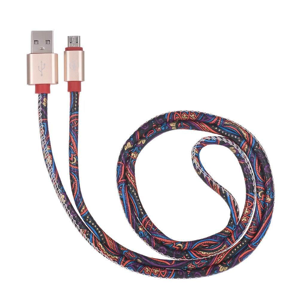 USB Mikro Universal Kabel Data Pengisi Daya Sinkronisasi Data Line Tali Tahan Lama Kabel Pengisi Daya untuk Xiaomi Huawei Samsung Galaxy Nokia Sony Ponsel Android