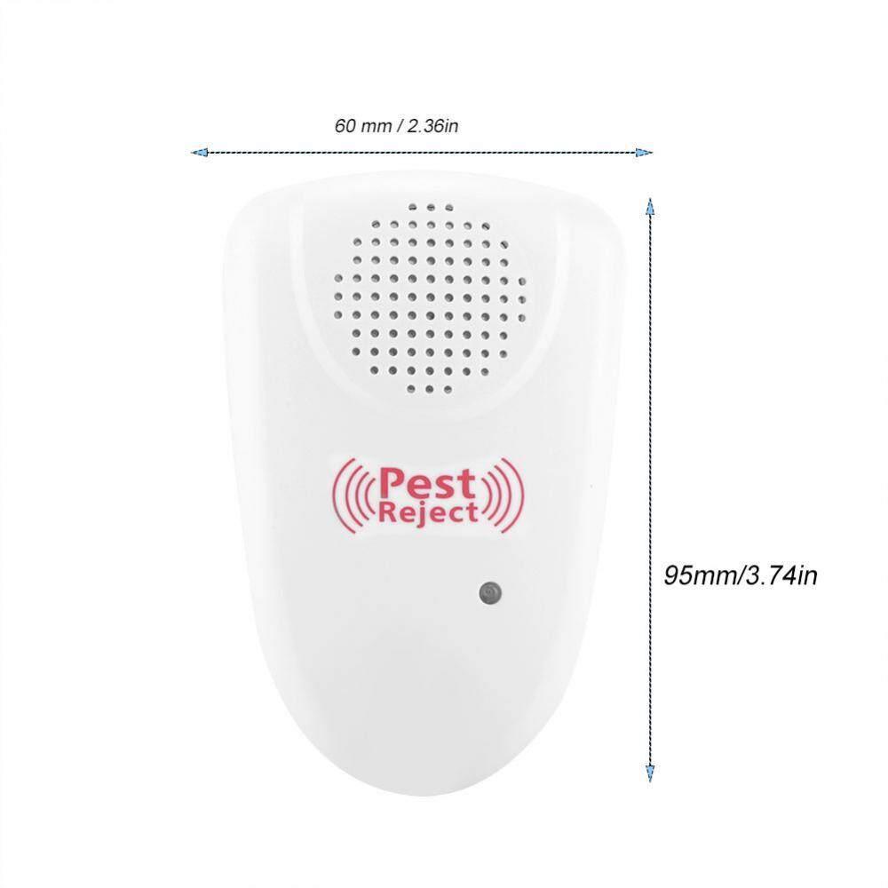 Detail Gambar Ultrasonik Elektronik Nyamuk Tikus Pengusir Kecoak Indoor Hama Kontrol Kami 90-240 V-Intl Terbaru