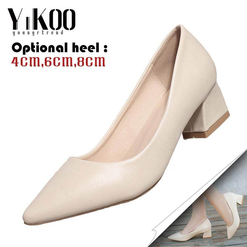 c966bfe94d94 YIKOO Classic Women s Pumps Party Shoes Pointed Toe High Heels Office Shoes  High Heeled Sandals (